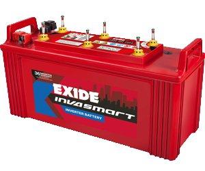 exide invasmart 100 ah inverter battery for home ups. Black Bedroom Furniture Sets. Home Design Ideas